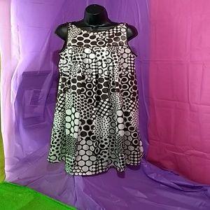 ALYX Brown & Cream Polka Dot Summer Dressl